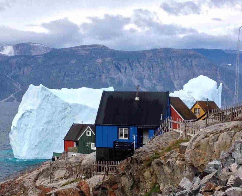 дома в гренландии фото данной