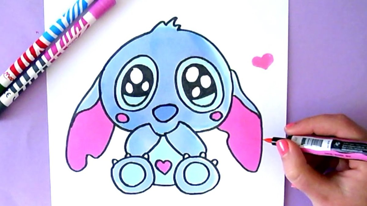 """Dessin Kawaii Pikachu. Comment Dessiner Harley Quinn Kawaii. Dessins Disney Coloriage Kawaii"