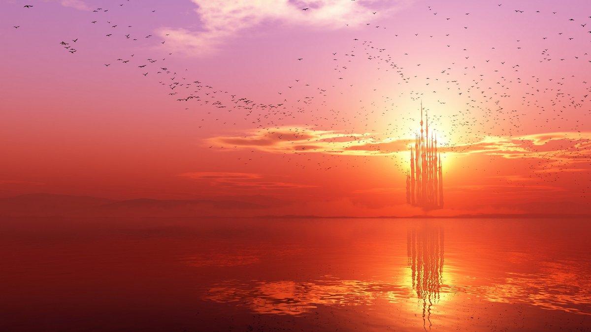 Открытки с закатом солнца, фото для парней