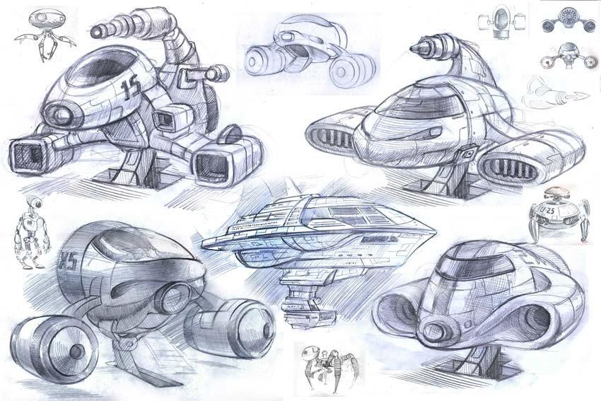 Космический корабль будущего картинка рисунок