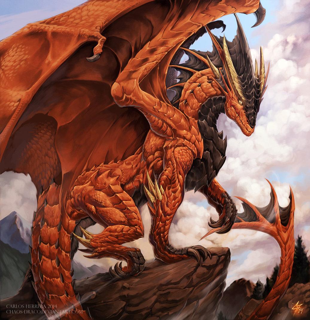 Ворон, красивые картинки с драконами