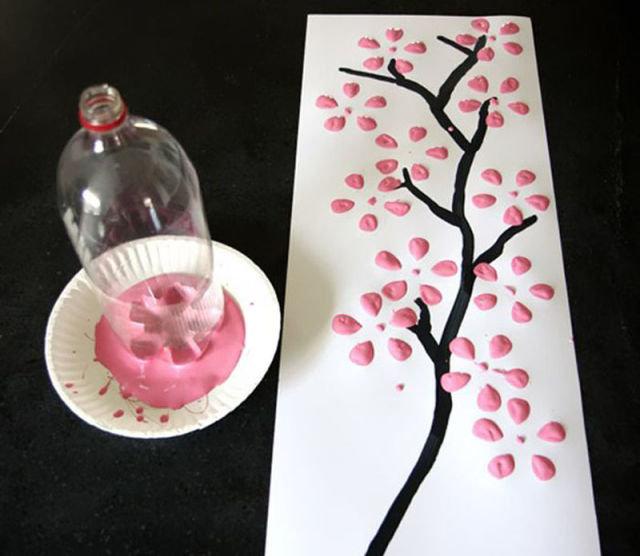 Рисунок своими руками на день рождения
