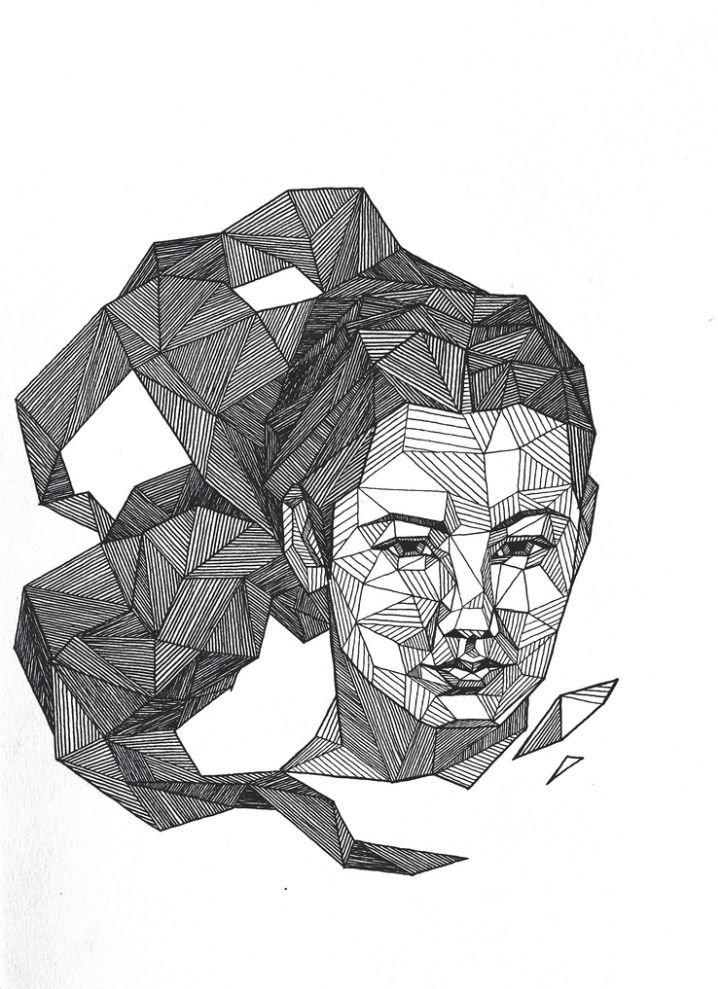 Графический дизайн картинки карандашом