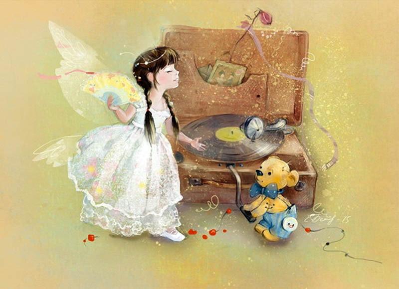 Добрая фея открытка, поздравлением