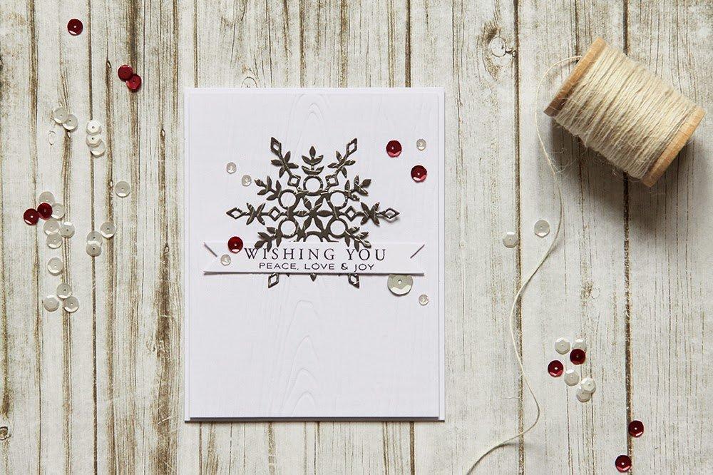 Доброй, открытка скрапбукинг минимализм