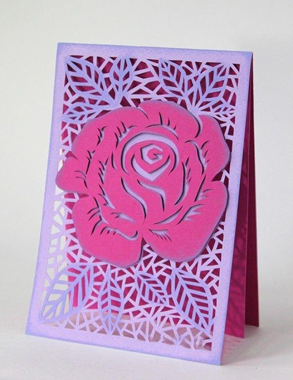 Своими руками открытка роза, компьютера приколы открытки