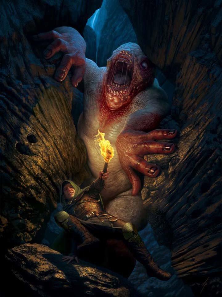 Картинки подземные монстры