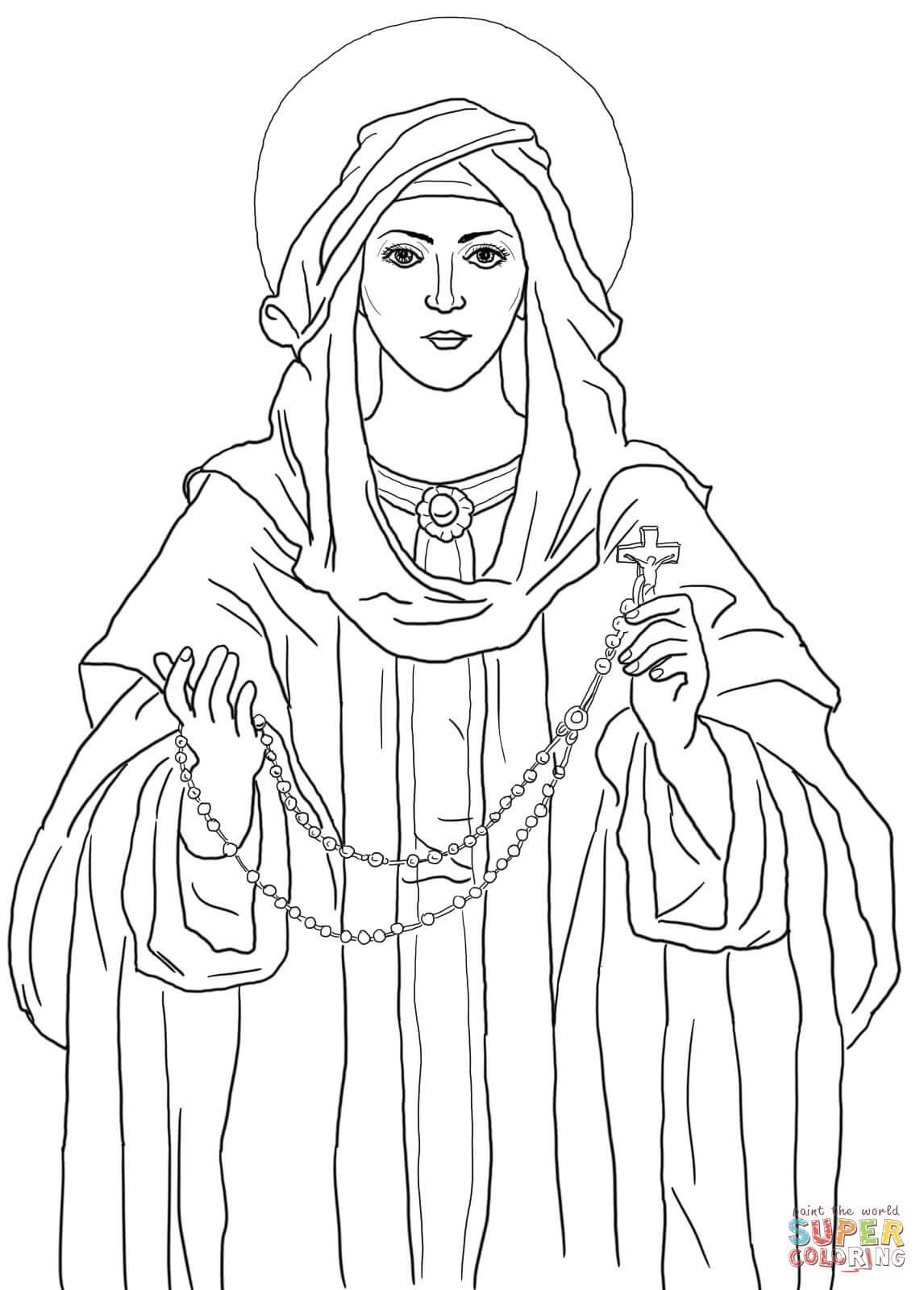 Раскраска к празднику покрова пресвятой богородицы
