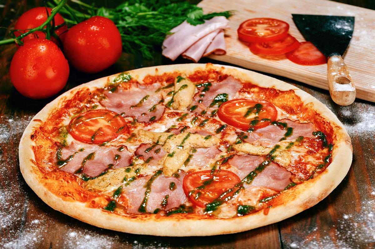 фото пиццы крупным планом