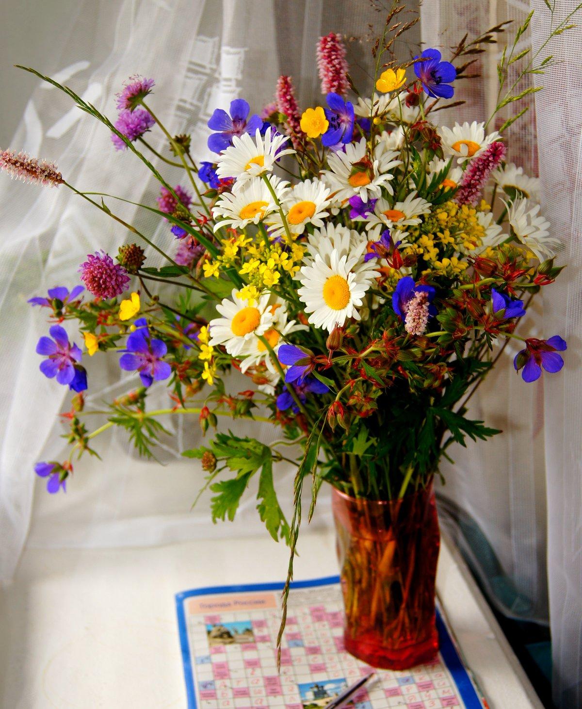 сказать, картинка летний букет цветов фото настоящее