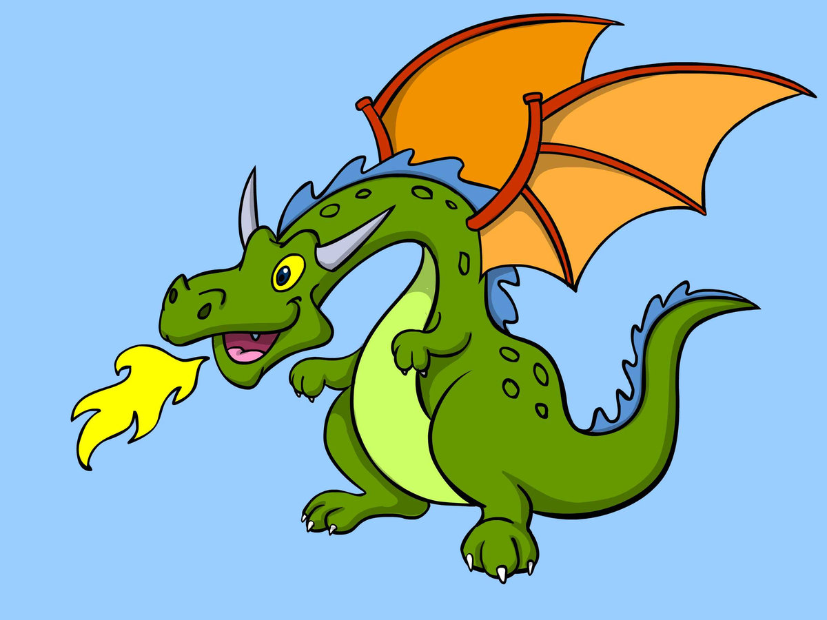 картинки с драконом в мультяшном виде всех есть свои