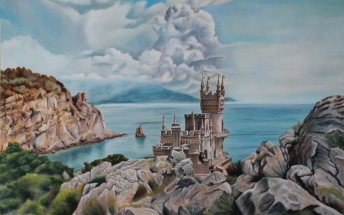 открытки крымские пейзажи поиске катеров