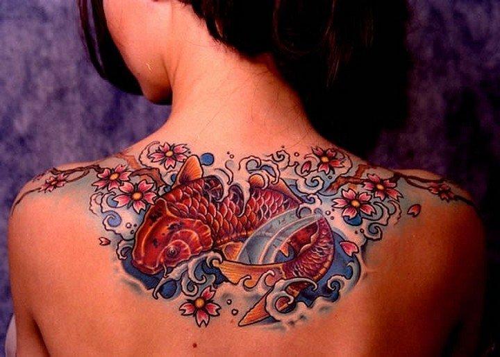 Значение женских татуировок фото