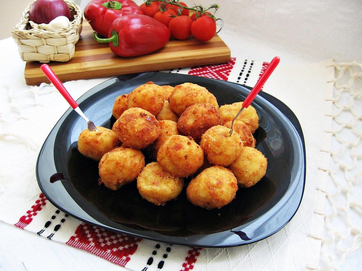 картофельно сырные шарики рецепт с фото реставрация восстановит цвета