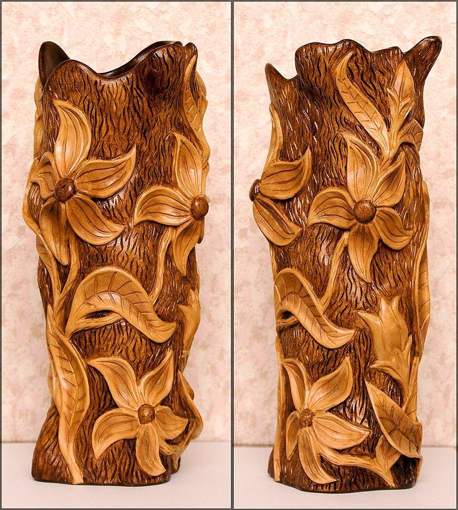Резные поделки из дерева картинки