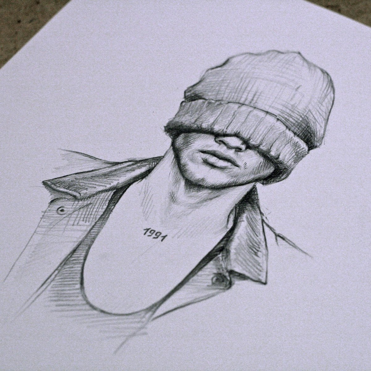 Рисунки карандашом на аву для пацанов