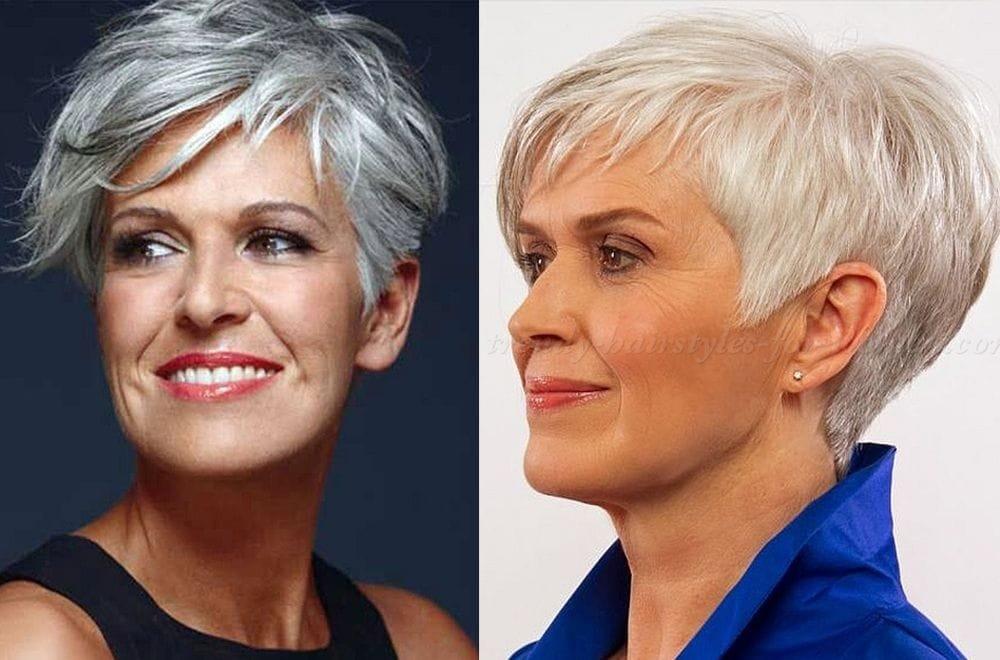 Стрижки на короткие волосы 2018 женские фото после 60 лет красивые
