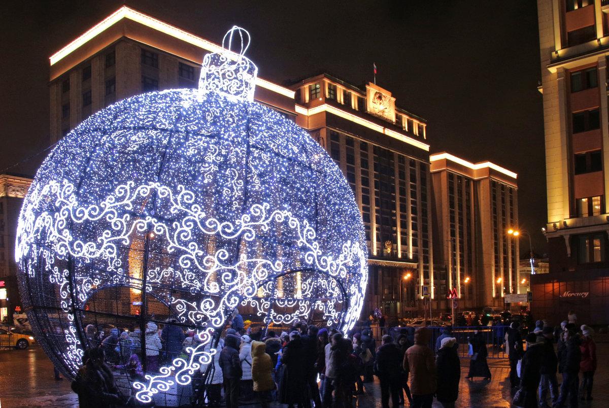 огни новогодние шары с фото екатеринбург торжеством