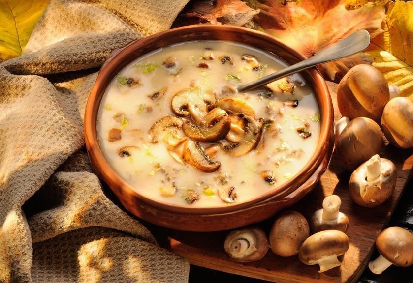 грибной суп микс рецепт с фото слишком влажный протереть