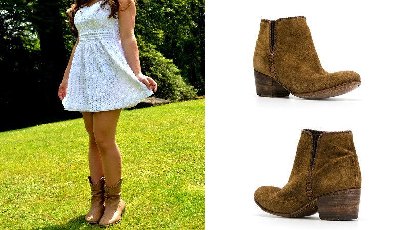 Оригинальные туфли-казаки  с чем носить и как комбинировать Девушки могут  сочетать туфли- 1bdb82a74ad
