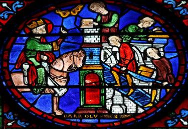 витражи средневековья