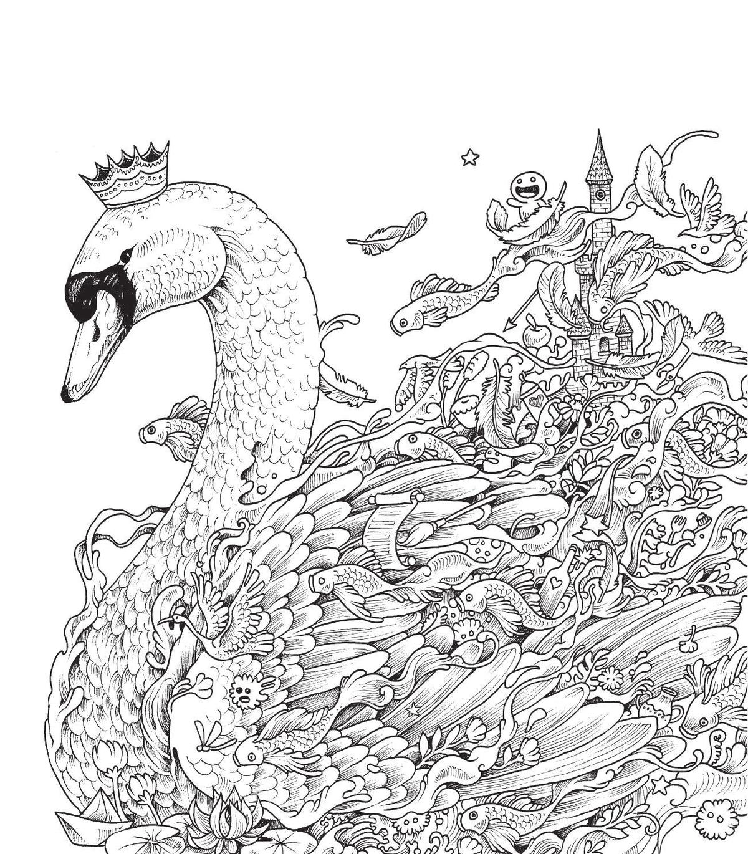 Рисунки с мелкими деталями карандашом
