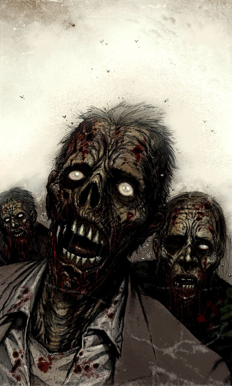 злой зомби картинка породы отменно ладят