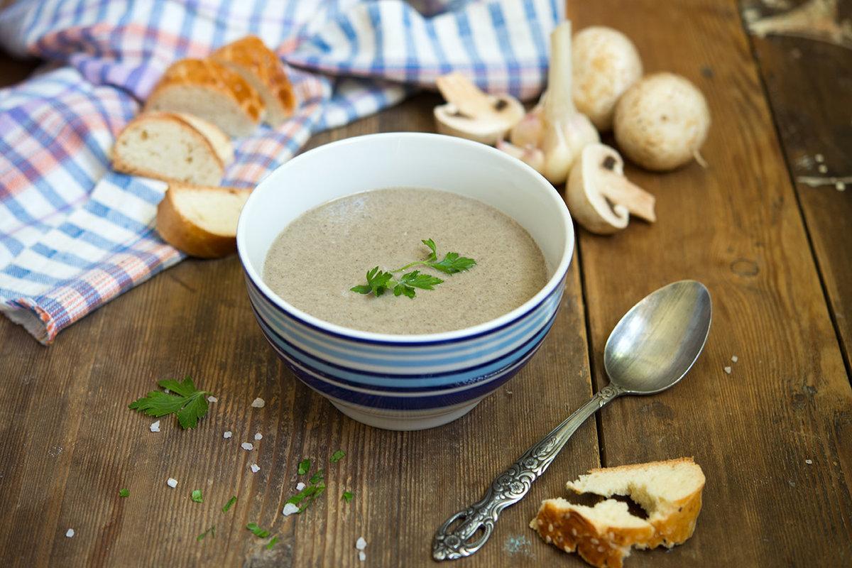 грибной крем суп рецепт с фото также