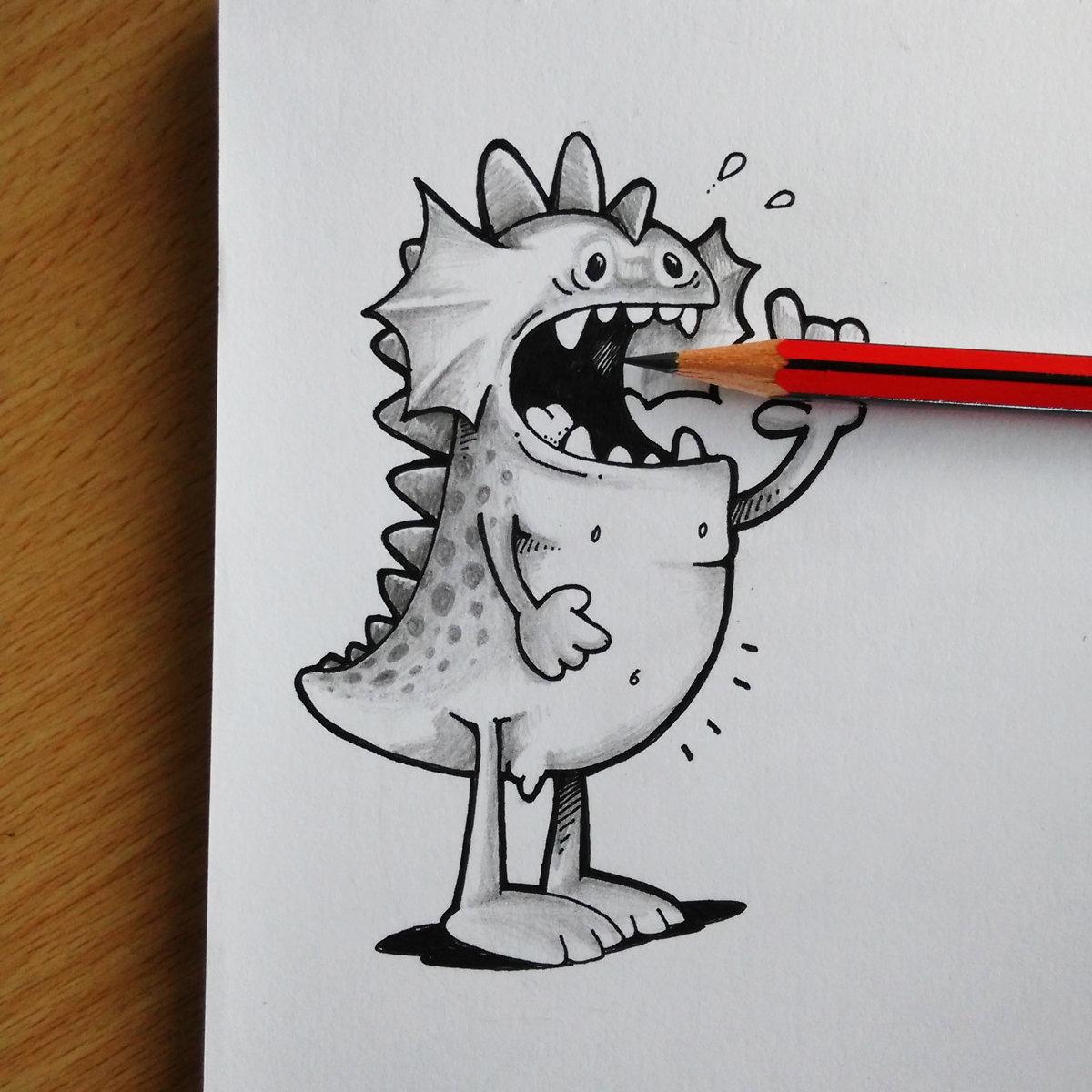 Анимационные картинки, как нарисовать прикольные смешные рисунки