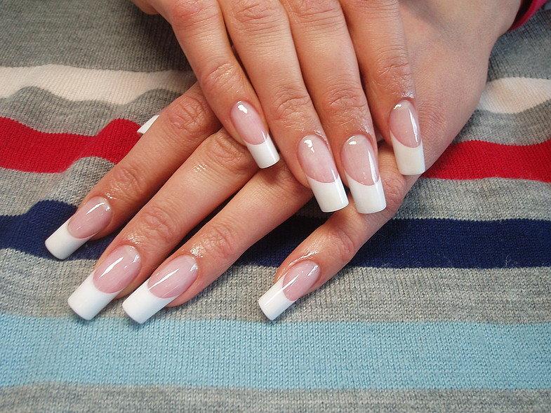 картинки квадратной нарощенные ногти формы