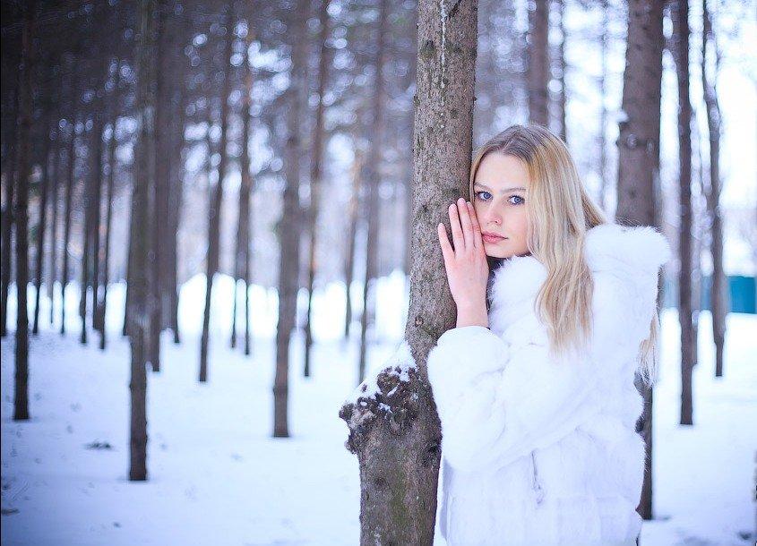 как красиво сфотографироваться на природе зимой снег тётка скорее