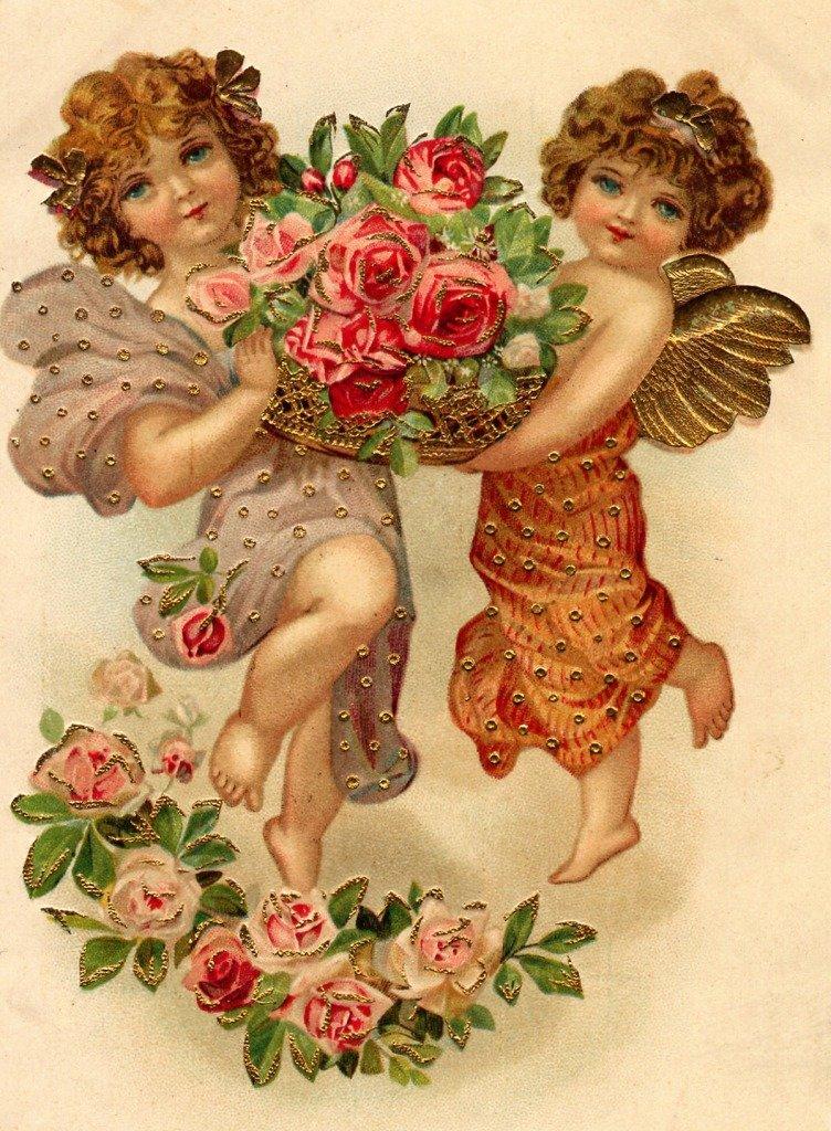 Антикварная открытки