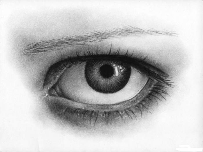 Как сделать глаза живыми 511