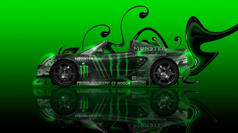 Delicieux Monster Energy Lotus Elise Side Super Plastic Car