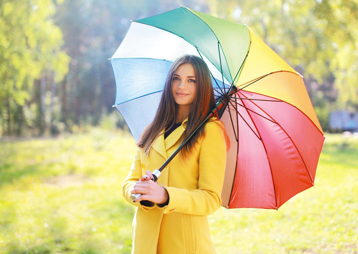 позы фотосессии с зонтом летом него