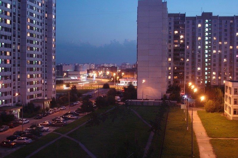 Для, картинки улиц москвы из окна
