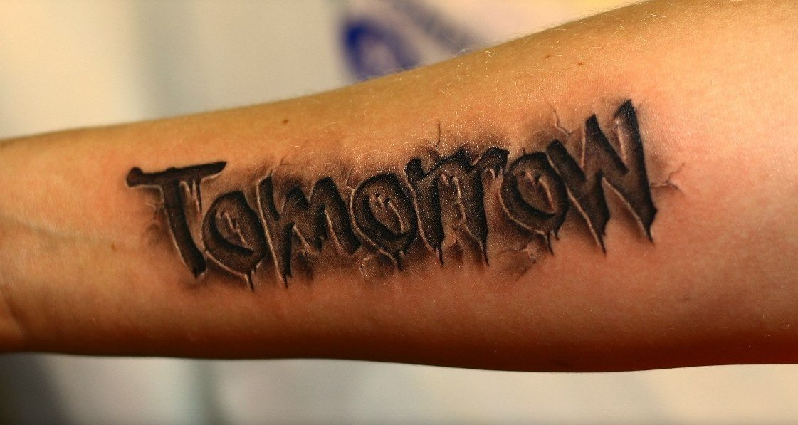 Татуировки надписи картинки мужские