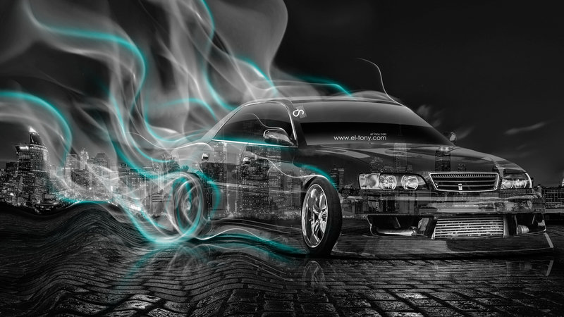 Exceptional Toyota Chaser JZX100 JDM Style Crystal City Smoke