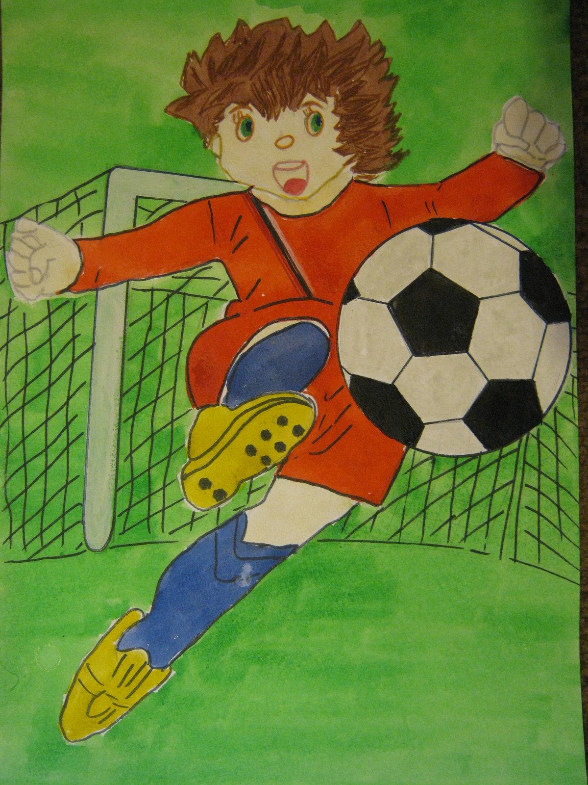Рисунки я люблю спорт детские
