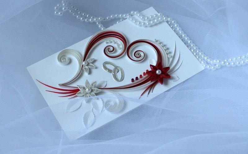 Оригинальный открытки на свадьбу