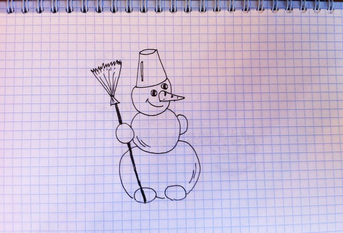 Для, самые простые рисунки ручкой