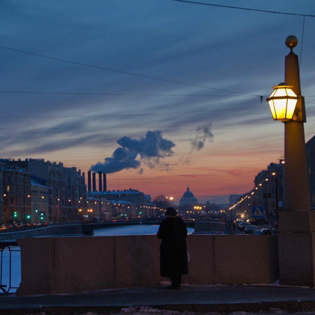 картинки петербург при свете фонарей вот еще любопытная