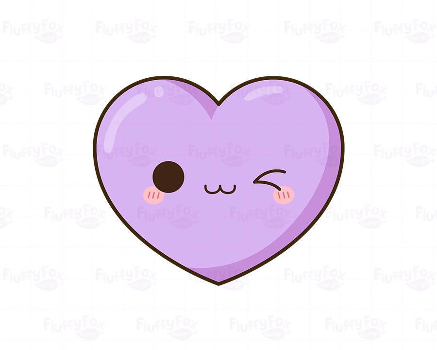 Рисунки сердца милые
