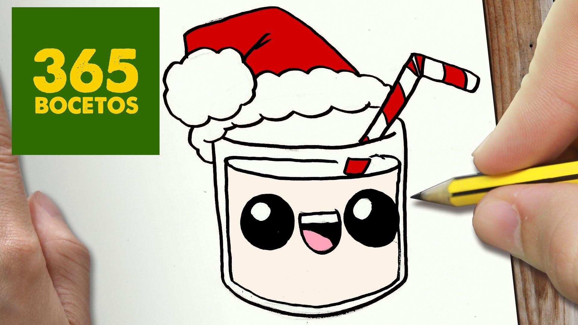 Como Dibujar Un Donut Para Navidad Paso A Paso Dibujos Ploc Card