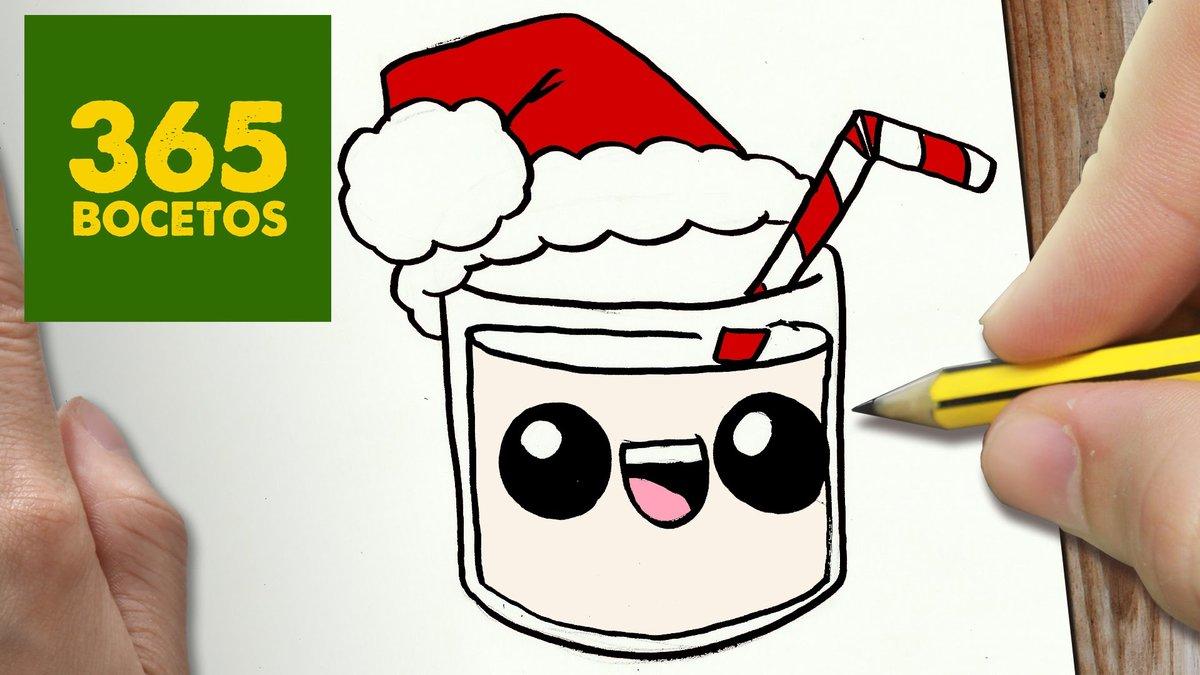 "Como Dibujar Un Cuaderno Para Navidad Paso A Paso Dibujos: ""Como Dibujar Un Donut Para Navidad Paso A Paso Dibujos"