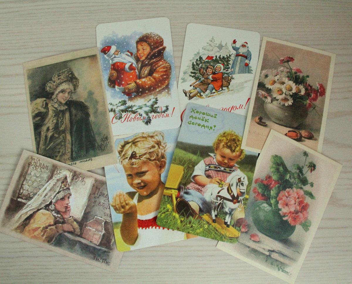 Почтовые открытки поздравляем, панды