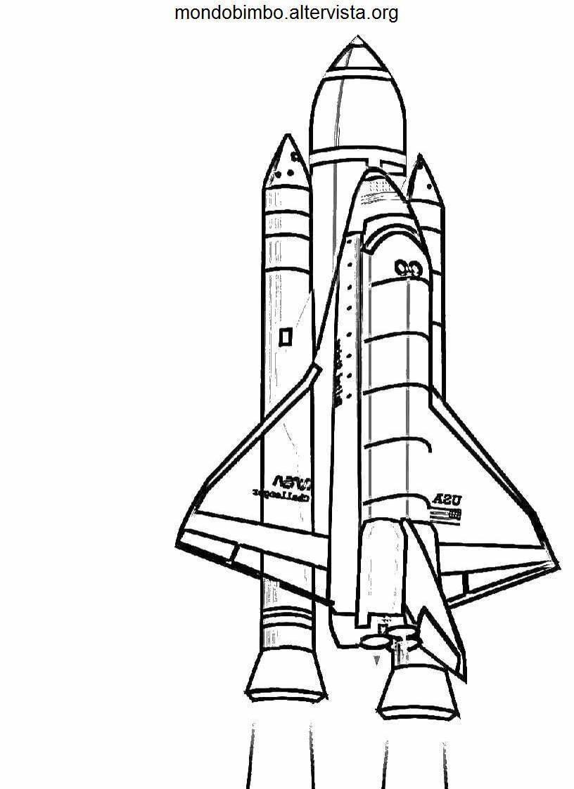 rocket space drawing - 700×1044