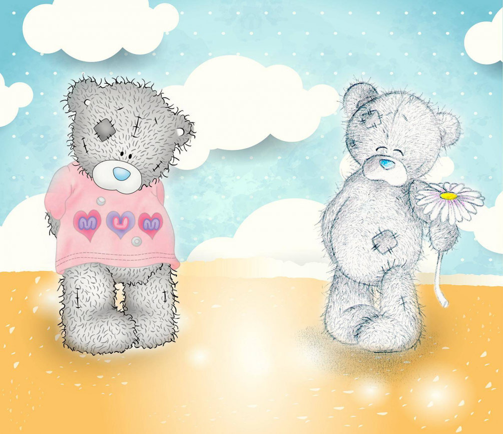 Красивые картинки с медведями тедди