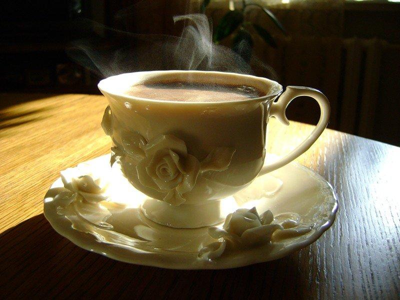 Чай в чашках анимация картинки, днем рождения