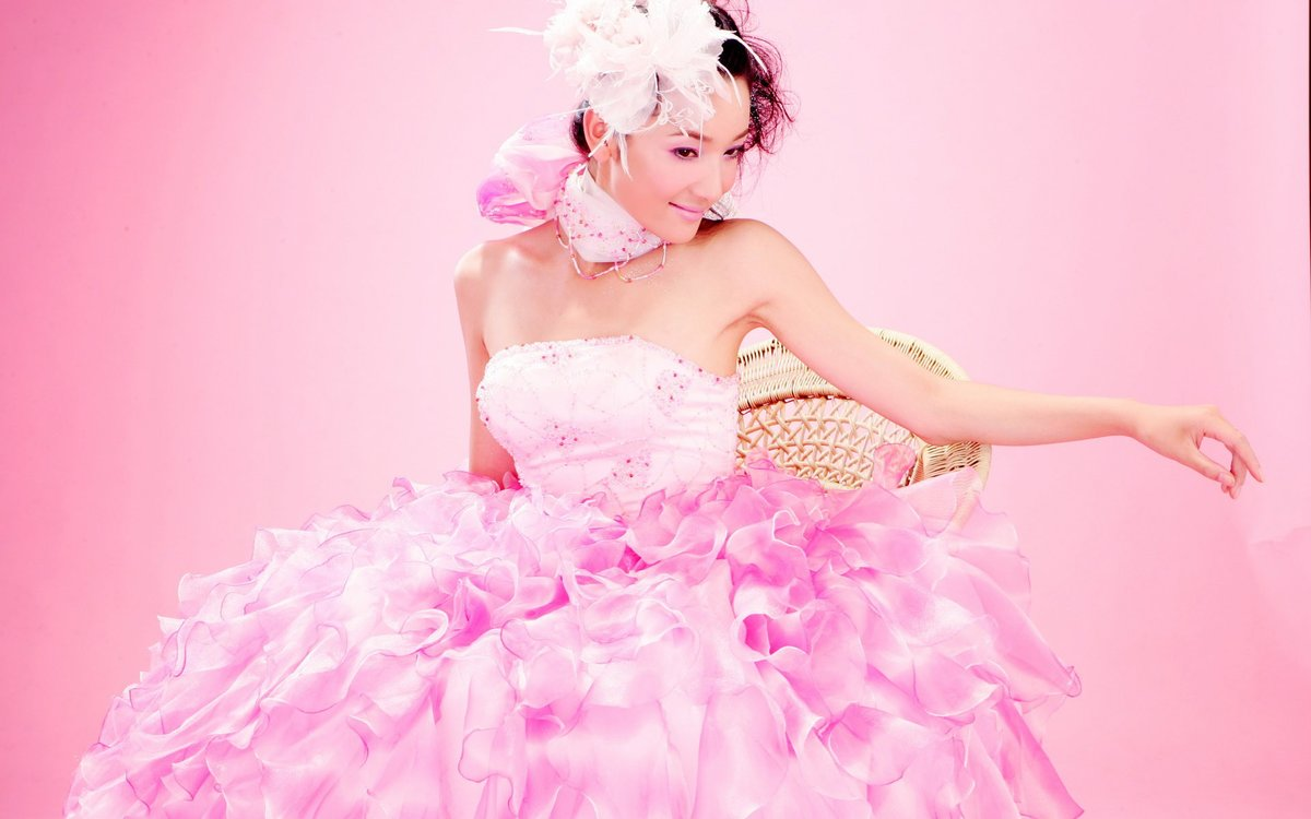 розовое платье фото картинки